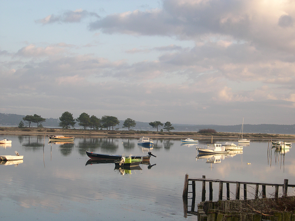 Pleine mer au mimbeau la conche anciennement luge du for Agence format paysage